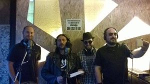da destra: Claudio - Ugo - Jury - Piercesare