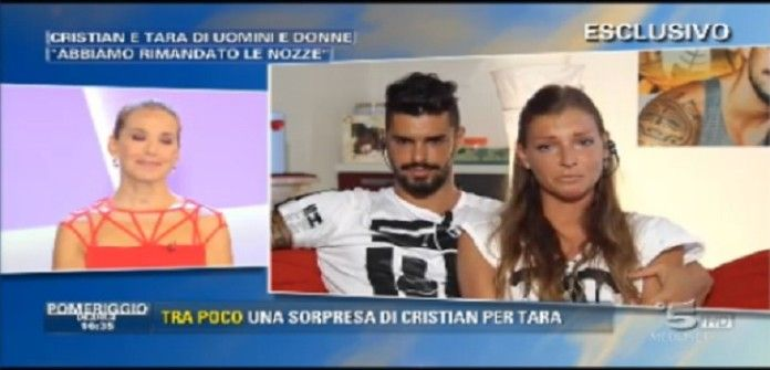 UeD: Cristian Gallella e Tara Gabrieletto rimandano le nozze. L'annuncio a Pomeriggio 5!