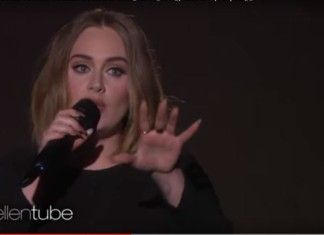 Adele canta All I ask da Ellen video
