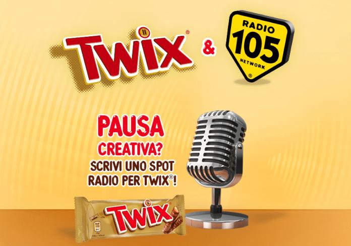 Zoo di 105: Vinci una giornata in radio con Twix