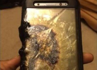 Samsung Galaxy Note 7 prende fuoco ed esplode - video