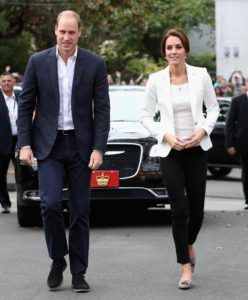 Kate Middleton e William d'Inghilterra in Canada 2016