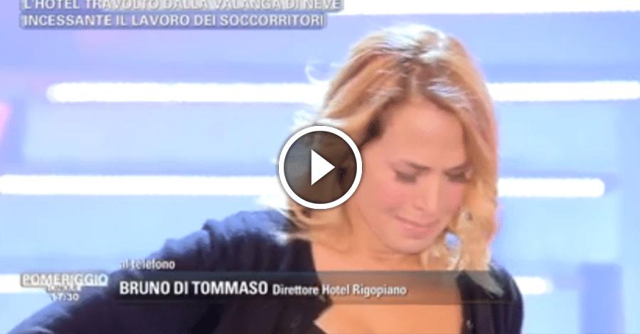 Pomeriggio 5, commozione in diretta per Barbara D'Urso