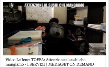 Scandalo sushi Iene