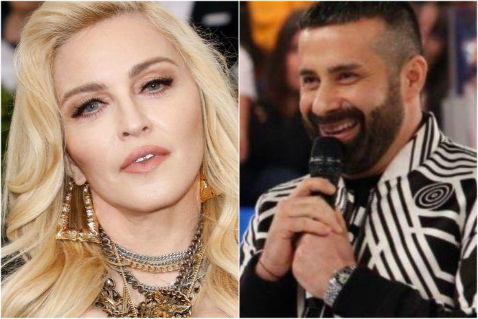 Madonna e Luca Tommassini