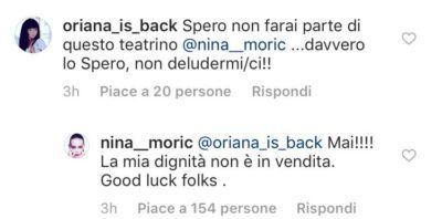"""Nina Moric contro Luigi Favoloso: """"Lunedì entro nella Casa del Grande Fratello e..."""""""