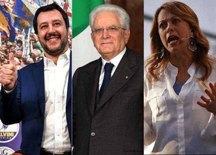 Salvini, Mattarella, Meloni