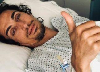 Marcello Sacchetta in ospedale