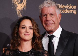Asia Argento Anthony Bourdain morto