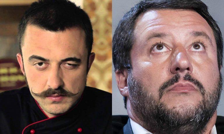 Chef Rubio e il nuovo post contro Matteo Salvini e i migranti morti in mare – FOTO