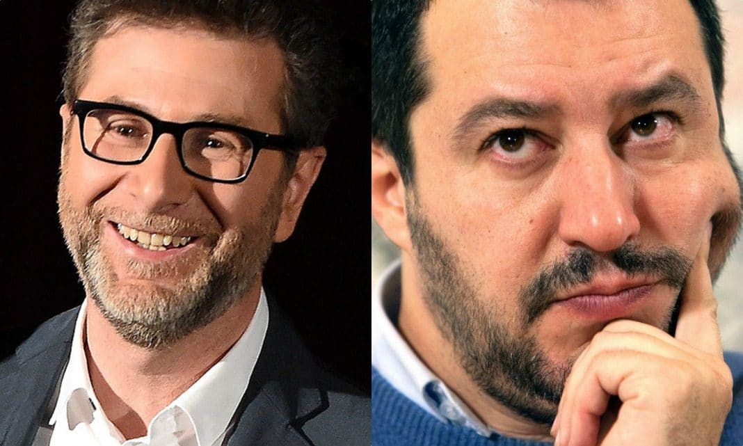 Salvini gela Fazio: 'Ha uno stipendio troppo alto, da lui non vado'