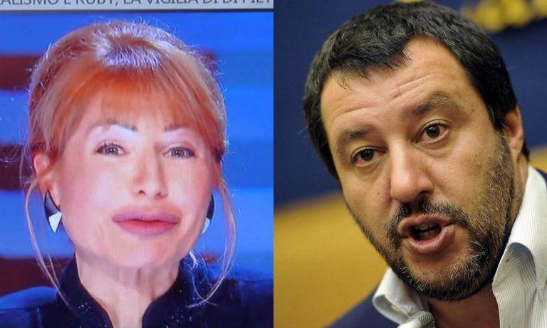 """Lilli Gruber offende Matteo Salvini per la questione migranti: """"Dice cose inammissibili…"""""""