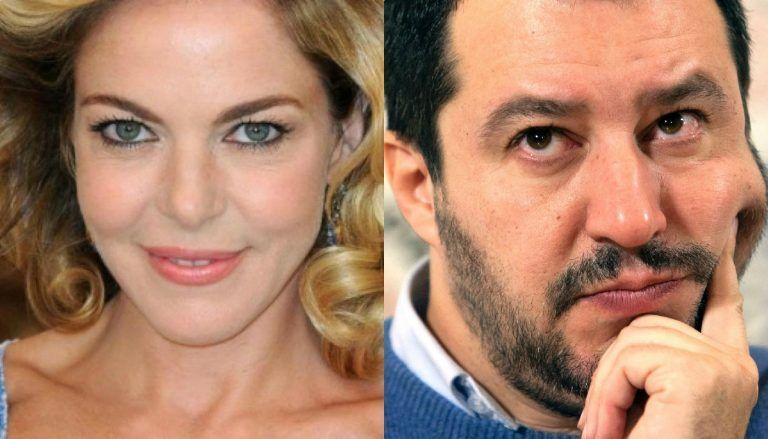"""Claudia Gerini dalla parte di Matteo Salvini: """"Giusto il censimento Rom, non è razzismo…"""""""