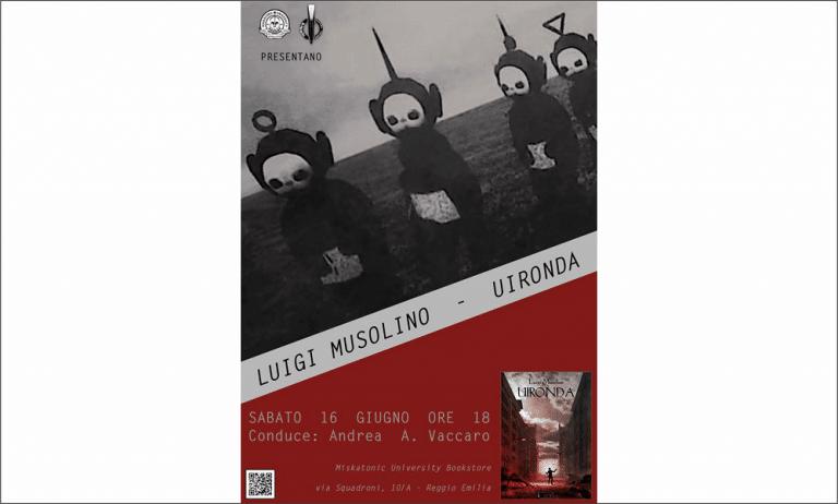 Il weird italiano a Reggio Emilia grida un solo nome: Luigi Musolino