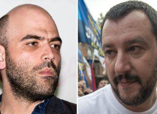 Roberto Saviano Matteo Salvini