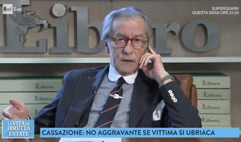 Vittorio Feltri bestemmia a La Vita in Diretta: 'Non sapete fare il vostro lavoro'