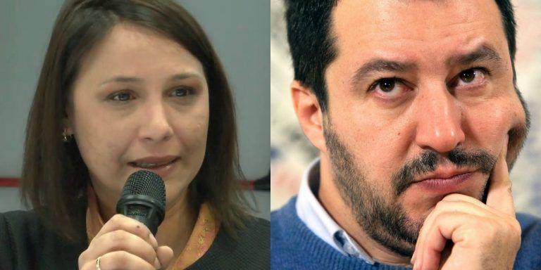 """L'attrice serba Dijana Pavlovic contro Matteo Salvini: """"Censimento illegale, l'odio di Salvini degenererà…"""""""