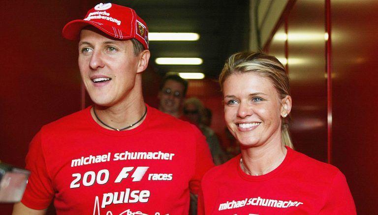 Michael Schumacher ancora malato, la moglie Corinna si allontana da lui e va in Spagna