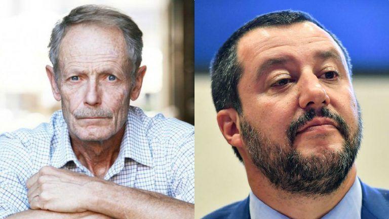 """Lo scrittore Erri De Luca si scaglia contro Matteo Salvini: """"Fa il guappo con i deboli…"""""""