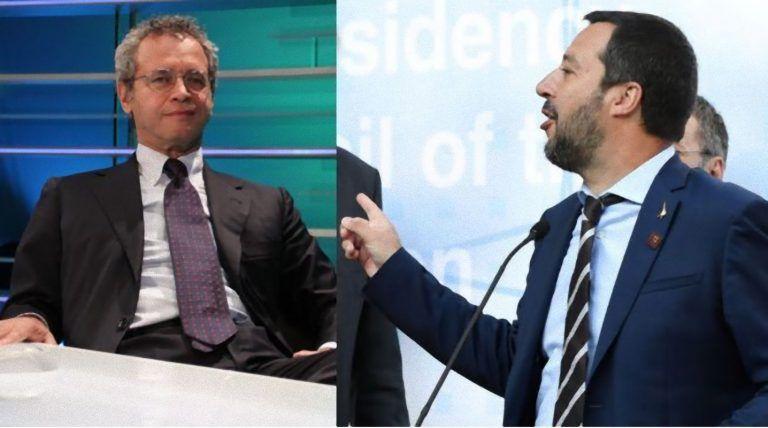 Enrico Mentana rimprovera Matteo Salvini: 'Tutti i migranti non sono clandestini e…'