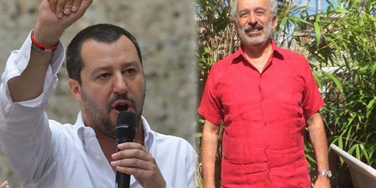 Gad Lerner con il Rolex al polso fa l'appello per i migranti, Salvini lo affonda – FOTO