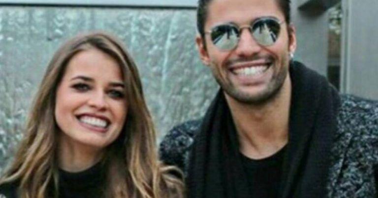 Luca Onestini e Ivana Mrazova: spiazzato dalla sorpresa in diretta a RTL 102.5