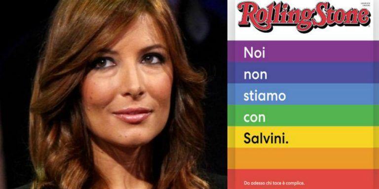 """La Luccarelli asfalta la rivista The Rolling Stone che attaccava Salvini :""""Sono illiberali e ostili…"""""""