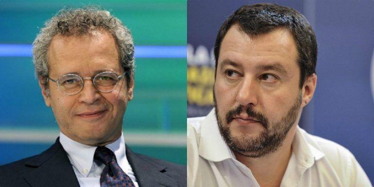 """Mentana, il duro attacco a Matteo Salvini sul censimento rom: """"Come Auschwitz…"""""""