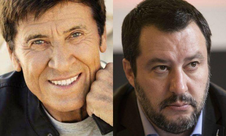 """Gianni Morandi e il commento sui social contro Matteo Salvini: """"Ha un handicap…"""""""