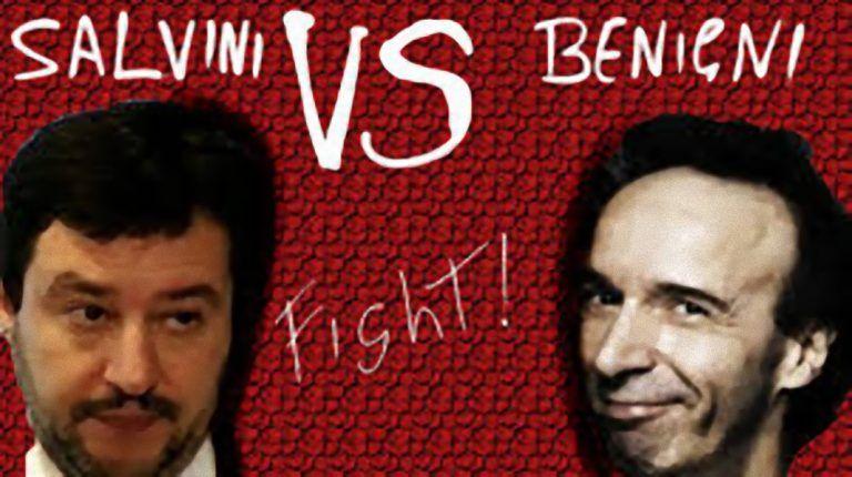 Roberto Benigni contro Salvini: 'Fa ridere. Ma la sua nomina a ministro fa…'