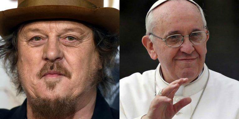 """Zucchero attacca il Papa per la questione migranti: """"Sbatta i pugni con Merkel e Macron.."""""""