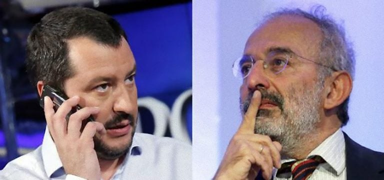 Gad Lerner umilia Matteo Salvini sui treni pendolari: 'Dici solo caz**e e…'