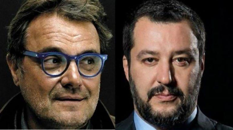 """Il fotografo Oliviero Toscani insulta Matteo Salvini: """"Un ritardato. Ma uno che caga può essere…'"""
