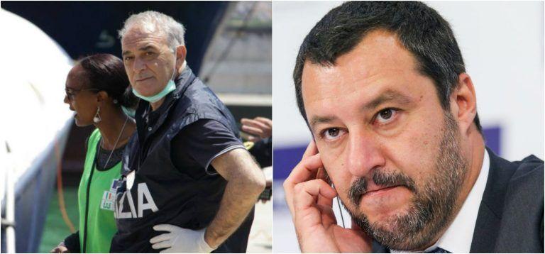 """""""E' un criminale, sfrutta la morte per…"""": le accuse choc di un poliziotto a Salvini"""