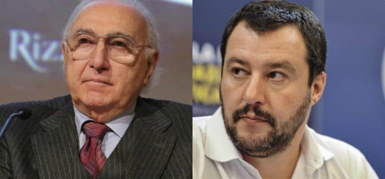 """Pippo Baudo contro Salvini, l'appello disperato: """"Scendete in piazza per i migranti…"""