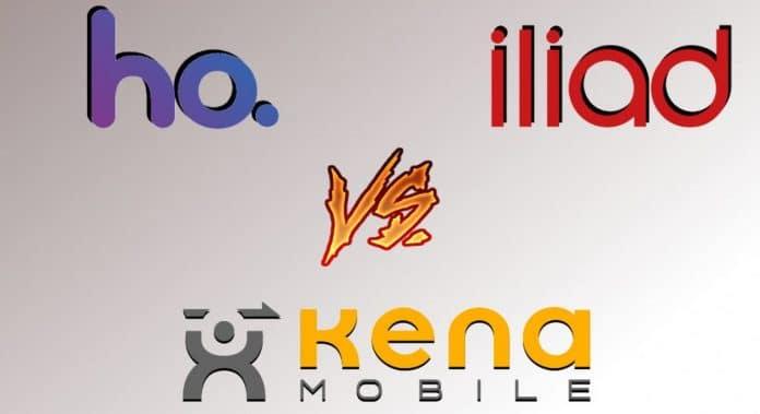 Ho mobile vs iliad vs kena mobile