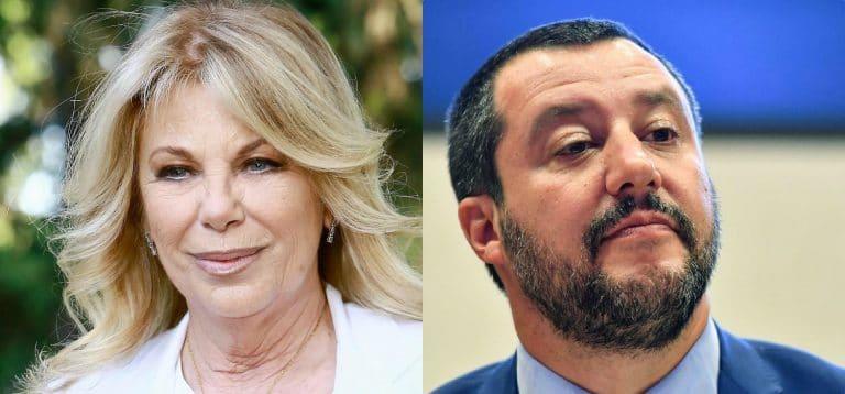 """Rita Dalla Chiesa rimprovera Salvini: """"A Saviano viene concessa la scorta…"""""""