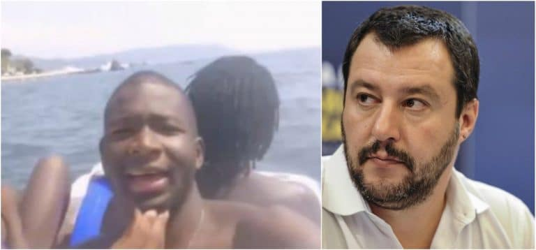 """""""Vi sputo in faccia…"""": Il rapper migrante insulta così Salvini e i leghisti"""