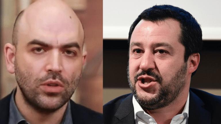"""""""Salvini è un mafioso, Conte un burattino senza…"""" Saviano insulta tutti"""