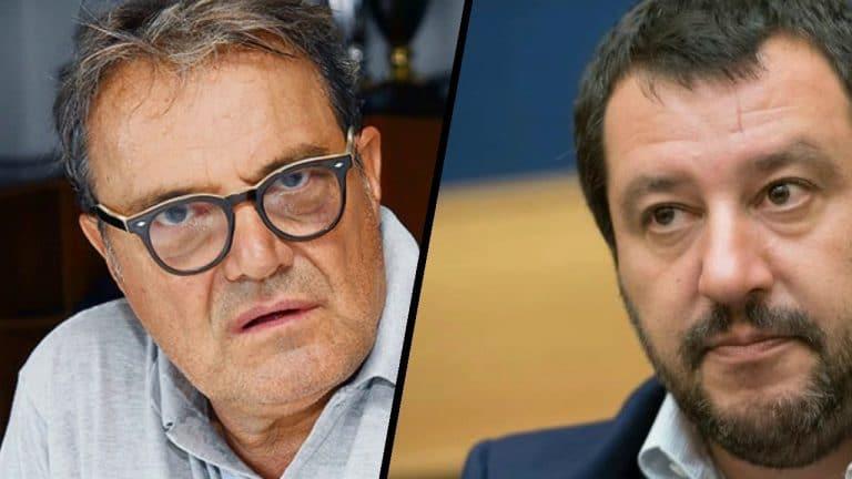 """Oliviero Toscani torna ad offendere Salvini: """"E' una scoreggia che…"""