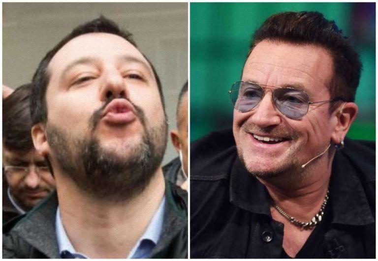 Bono Vox, il cantante degli U2 rimprovera Matteo Salvini: 'Abbiate compassione e…'