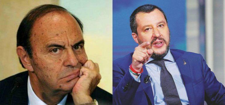 """Bruno Vespa, il presentatore attacca Salvini e difende Berlusconi: """"Non può governare…"""""""
