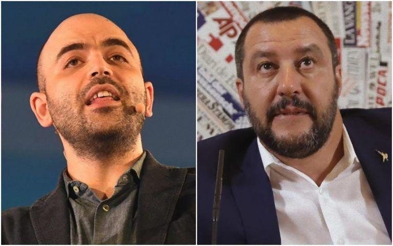 Roberto Saviano, la folle accusa a Salvini: 'Sei un mandante di sequestro di persona e…'