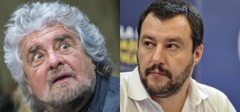 """Beppe Grillo prende in giro Matteo Salvini: """"C'è un nero in spiaggia…"""" – VIDEO"""