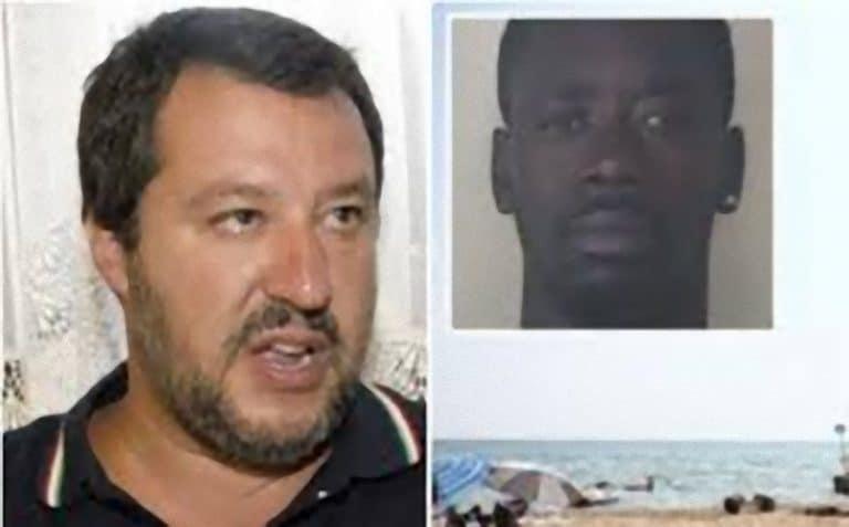 Jesolo, il senegalese che ha stuprato una 15enne non può essere espulso: Salvini svela il motivo