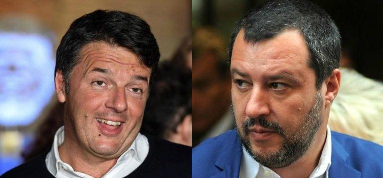 """Matteo Renzi provoca Salvini sugli 80 euro: """"E' solo un copione…"""""""