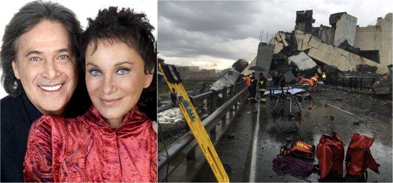 """Crollo del ponte Morandi, anche i Ricchi e Poveri erano lì: """"Stavano andando…"""""""