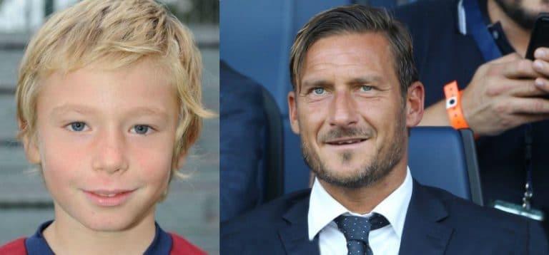 L'avversario si fa male, il gesto del figlio di Francesco Totti diventa virale