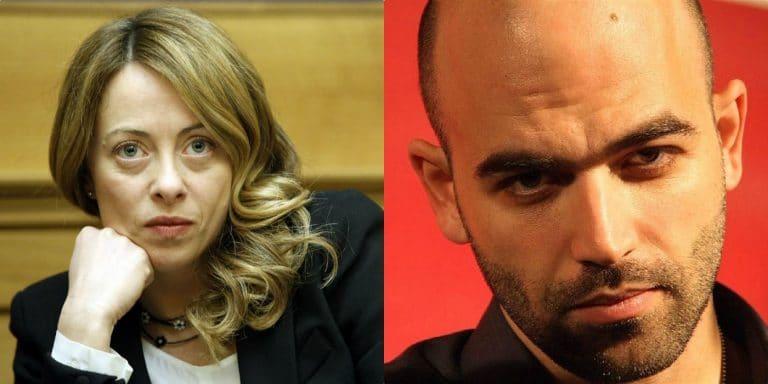"""Giorgia Meloni umilia Roberto Saviano: """"I suoi articoli? Tutti copiati, non merita…"""