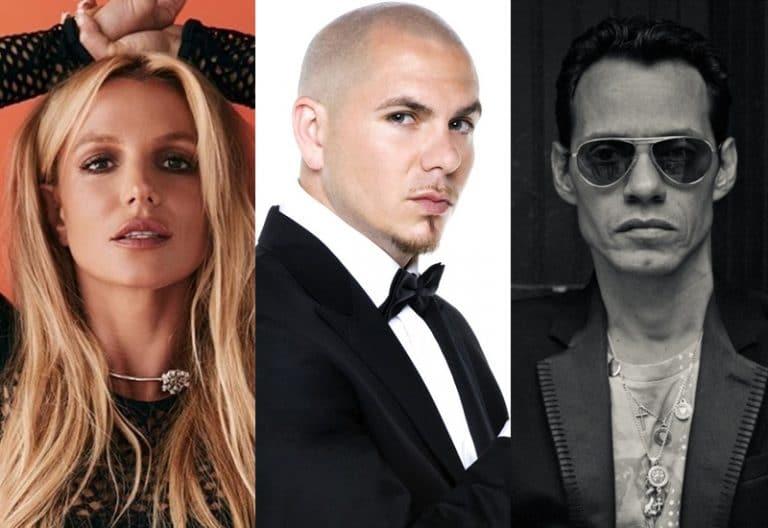 Britney Spears potrebbe performare con Pitbull e Marc Anthony, live @American Music Awards